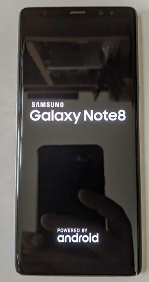 Samsung galaxy note 8 for Sale in San Jose, CA