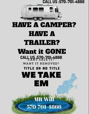 Do you have a Camper / Trailer ? for Sale in Stroudsburg, PA