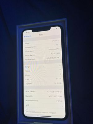 iPhone XS Max 64gb for Sale in Los Angeles, CA