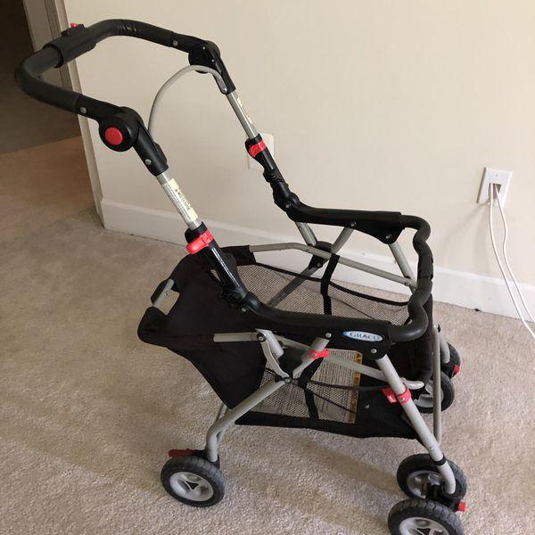 Stroller for infant car seat