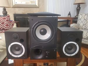 Ps5 monitor SPEAKERS and energy s8.2 sub for Sale in Santa Ana, CA
