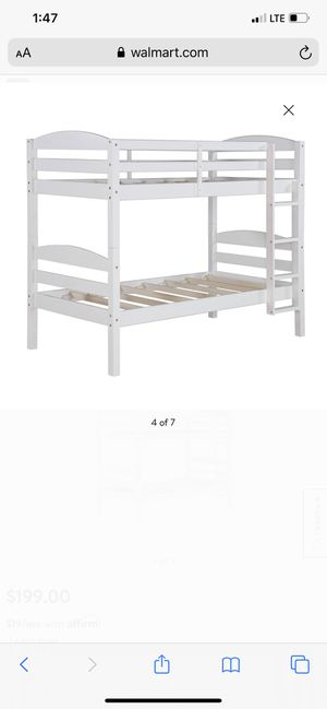 Twin bunk bed for Sale in Kingsburg, CA