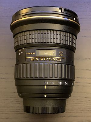 Tokina 11-20 f2.8 IF DX for Nikon for Sale in Windsor, ON