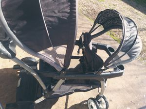 Sit an stand double stroller for Sale in San Antonio, TX