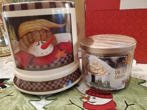Large VINTAGE Electric Candle Warmer with BBW Candle for Sale in Glendale, AZ