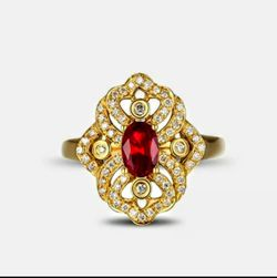 NWT 18k Gold Filled Ring Sz 9/10 Available for Sale in Wichita,  KS