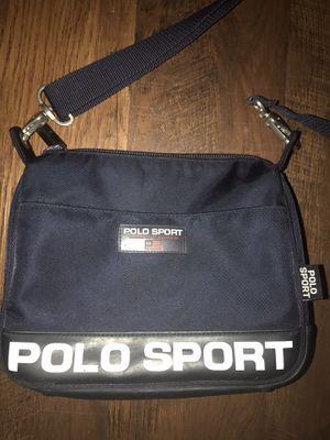 Vintage Ralph Lauren Polo Sport Navy Cross Body Shoulder Messenger Bag 90's for Sale in Danbury, CT