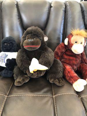 Stuffed Monkeys for Sale in San Marcos, CA
