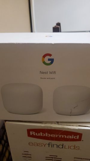 GOOGLE Nest wifi router and point for Sale in Los Angeles, CA