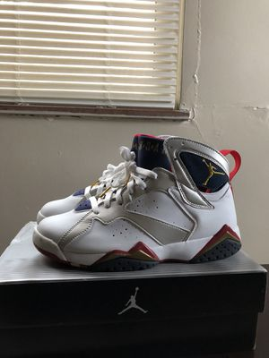 9770d44697d9 2004 AIR JORDAN 7 OLYMPIC SIZE 9 for Sale in Highland Hills
