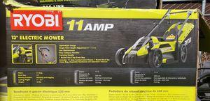 "Ryobi 13 ""electric mower . for Sale in DEVORE HGHTS, CA"