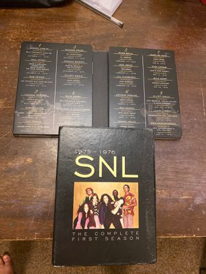 SNL complete first season on dvd for Sale in San Antonio, TX