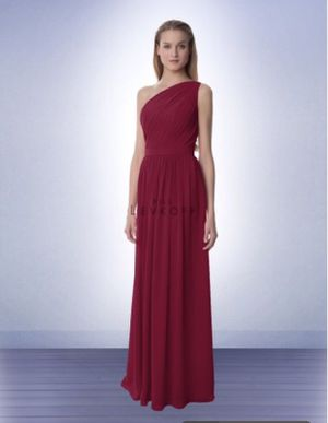 Bridesmaids dress Bill Levkoff style 991 in cranberry for Sale in Fairfax, VA