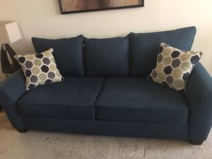 Blue/Green Sleeper Sofa for Sale in Alexandria, VA