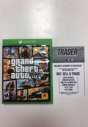 GTA 5 Xbox one for Sale in Pittsburgh, PA