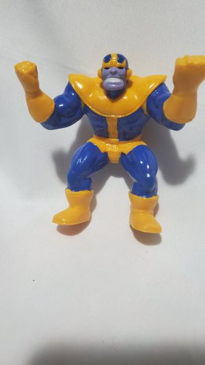 Marvel Super Heroes Thanos Bendable Bend 'Ems Figure Just Toys 1991 for Sale in Los Angeles, CA