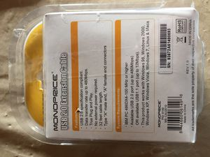Monoprice usb 2.0 cable for Sale in Chattanooga, TN