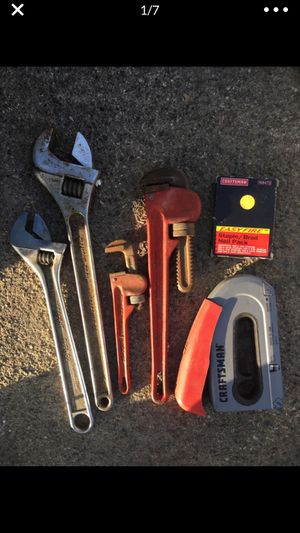 Wrench tool lot and air guns for Sale in Fresno, CA