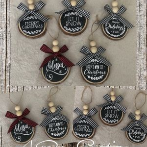 Personalized Rustic Wood Ornaments for Sale in Old Bridge Township, NJ