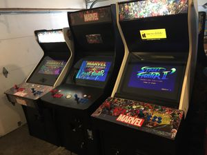 Pac-Man,Galaga,marvel,capcom arcade game plays 1299 games just built 1 year warranty great holiday gift 🎁 for Sale in Des Plaines, IL