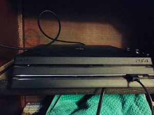 Sony PlayStation 4 PRO Jet Black for Sale in Tulare, CA
