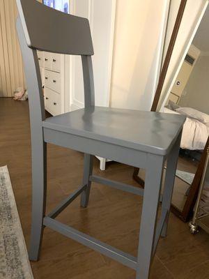 Blue grey bar stools (2) for Sale in Washington, DC