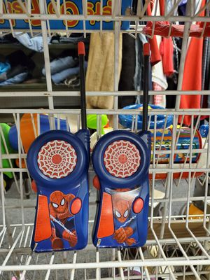 Spider man walkie talkies for Sale in Erie, PA