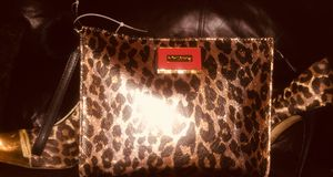 Authentic Betsey Johnson wristlet clutch or make up bag versus the deal as well as a spice it up addition to any wardrobe for Sale in Salt Lake City, UT
