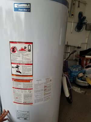 Brand new Kenmore water heater 75 gallons for Sale in Aldie, VA
