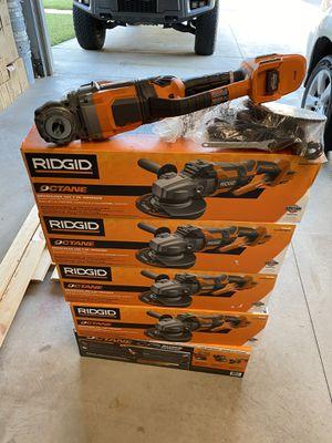 """Ridgid Octane Brushless 18v 7"""" grinder for Sale in Yukon, OK"""