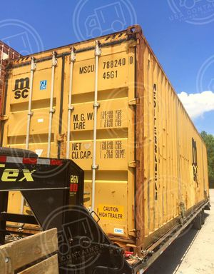 Selling shipping cargo water and wind tight 40 ft std container for Sale in Atlanta, GA