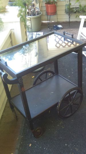 Antique serving table beautiful for Sale in Cleveland, OH