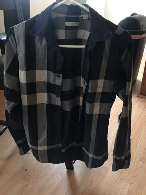 Blue Burberry Long sleeve 100%Real for Sale in Washington, DC