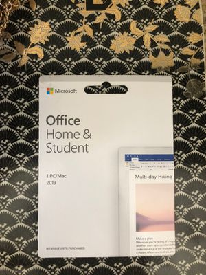 MICROSOFT OFFICE (HOME AND STUDENT)- MAC 2019 for Sale in Beverly Hills, CA