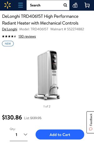 Radiant heater for Sale in Haddon Township, NJ