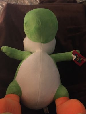 Yoshi stuffed animal 17 inches for Sale in San Leandro, CA