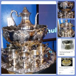 Beautiful Antique Silver Set for Sale in West Valley City,  UT