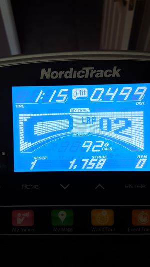 NordicTrack elliptical exercise machine electronic tracker with Google maps (ifit live) 10 performance settings and 10 calorie workouts for Sale in Anthem, AZ