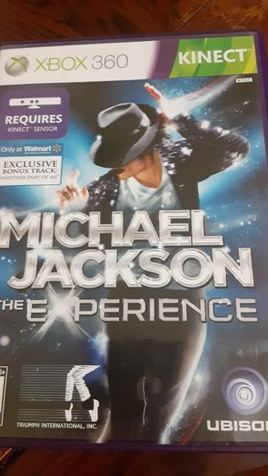 The Michael Jackson Experience Xbox360 for Sale in Grand Saline, TX