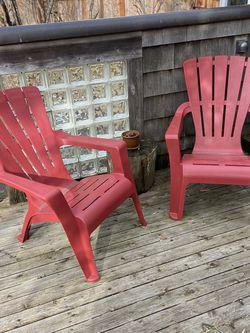 plastic adirondack chairs for Sale in Seattle,  WA