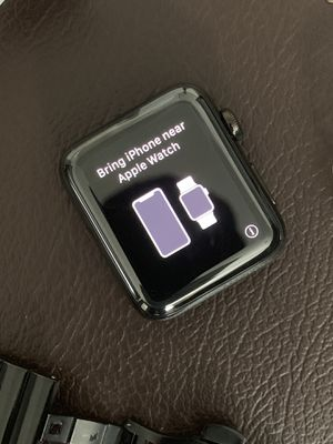 Apple Watch 3 series black 42mm GPS/Cellular for Sale in Fort Worth, TX