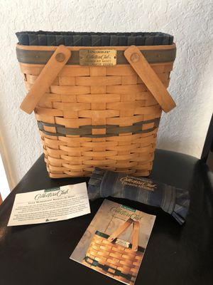 Longaberger 1996 Charter Member basket for Sale in St. Petersburg, FL
