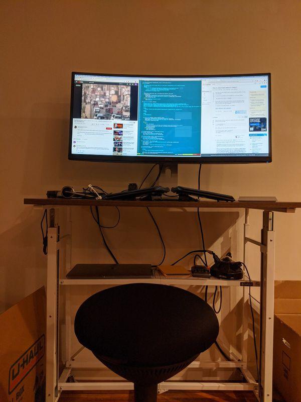 "Dell Ultrasharp U3415W 34"" ultrawide monitor"
