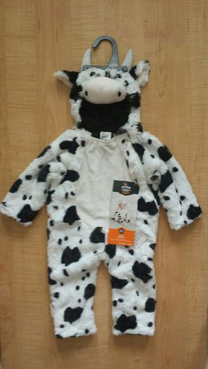 BRAND NEW Halloween Costume Infant Cow 0-6 Months. Retails for $20, only asking $10! for Sale in St. Petersburg, FL