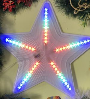 """20"""" inches Christmas Star LED DECORATION for Sale in West Palm Beach, FL"""