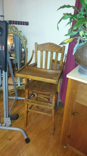 Antique high chair, handmade. for Sale in Baltimore, MD