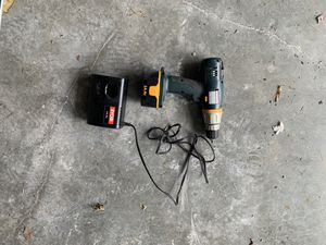 Cordless Ryobi drill with charger and battery for Sale in Jamestown, RI