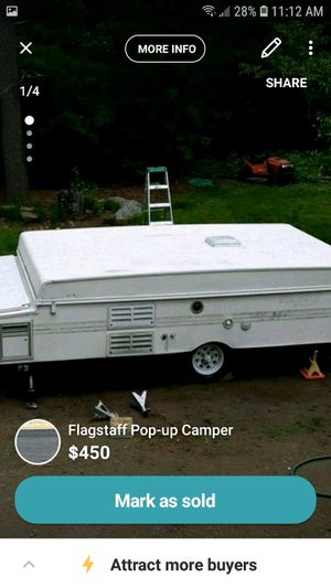 Pop-up camper for Sale in Paxton, MA