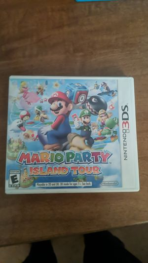 Mario party island tour for Sale in Hilliard, OH