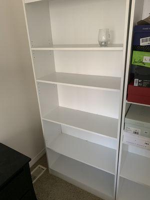 White bookshelves for Sale in Aurora, OH